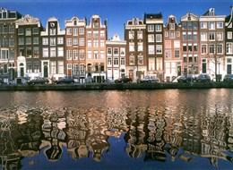 Krásy Holandska, květinové korzo a slavnost goudy 2020 Holandsko Holandsko - Amsterdam - země grachtů, obchodu, starých mistrů a jejich obrazů, kupeckých domů a to vše se odráží v duši místních lidí i na hladině kanálů