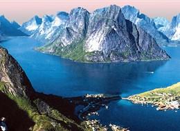 Norské fjordy 2020 Norsko Norsko - ledovcem vyhloubené fjordy dnes vyplněné mořem jsou okouzlující podívanou