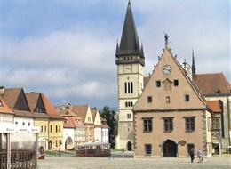 Ukrajina a východní Slovensko, příroda, města a památky UNESCO 2020 Ukrajina Slovensko - Bardějov, městská památková rezervace, památka UNESCO