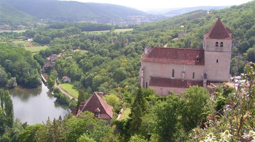 Zelený ráj Francie, kaňony, víno a památky UNESCO 2021  Francie, Périgord, Cirq Lapopie