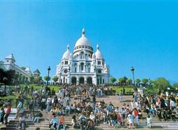 Paříž a zámek Versailles 2020  Francie - Paříž - Sacré-Coeur, 1875-1919