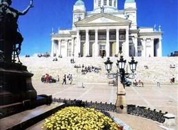 Kouzlo Pobaltí, Petrohrad a Finsko letecky 2020 Rusko Finsko, Helsinky, Senátní náměstí