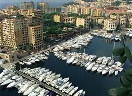 Španělsko, Costa Brava, Francouzská riviéra 2020 Katalánsko Monako - přístav