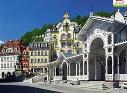 Lázeňský kraj, Becherův elixír a přírodní rezervace 2020 Severní Čechy ČR, Karlovy Vary, kolonáda
