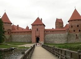 Kouzlo Pobaltí, Petrohrad a Finsko 2020  Pobaltí, Litva, Trakai, pevnost