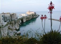 Bílé útesy poloostrova Gargano a památky Apulie 2020 Apulie a Kalábrie Itálie - Apulie