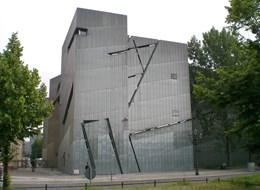 Berlín a večerní slavnost světel 2020 Berlín Německo, Berlín, Židovské muzeum