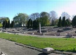 Maďarsko - Budapešť - Aquincum, zbytky římských lázní, památka UNESCO od 1987