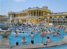 Maďarsko, Budapešť, Szechenyiho lázně