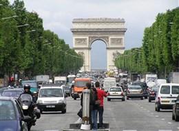 Paříž, perla na Seině letecky 2020 Paříž a Île-de-France Francie, Paříž, Vítězný oblouk