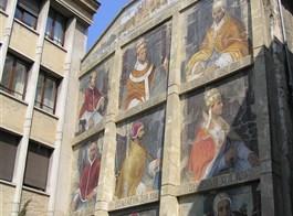 Pohodová levandulová Provence i za gastronomií a vínem 2021  Francie, Provence, Avignon, stěna papežů