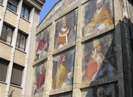 Pohodová levandulová Provence i za gastronomií a vínem 2020 Provence Francie, Provence, Avignon, stěna papežů