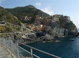 Ligurská riviéra a Cinque Terre s koupáním 2021  Itálie, Ligurie, Cinque Terre - Manarola