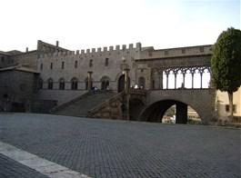 Jižní Toskánsko a kraj Etrusků Lazio 2021  Itálie, Lazio, Viterbo, Papežský palác
